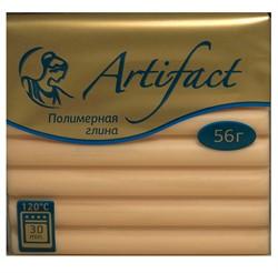 """Полимерная глина """"Артефакт"""" цвет телесный 56 г  1 уп."""