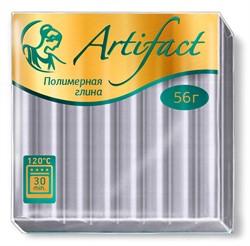"""Полимерная глина """"Артефакт"""" металлик цвет серебро 56 г  1 уп."""