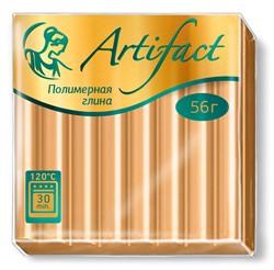 """Полимерная глина """"Артефакт"""" металлик цвет золото 56 г  1 уп."""