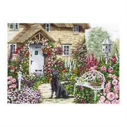"""Набор для вышивания """"Коттеджный сад"""" 45*32 см 'Luca-S'"""
