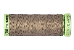 Нить Top Stitch отделочная, 30 м, 100% п/э, цвет: 199 мускатный орех, 1 кат.