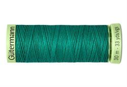 Нить Top Stitch отделочная, 30 м, 100% п/э,  цвет: 167 нефритовый, 1 кат.