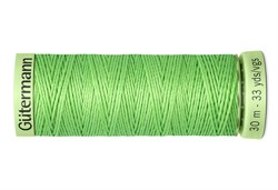 Нить Top Stitch отделочная, 30 м, 100% п/э,  цвет: 153 салатовый, 1 кат.