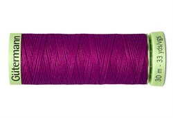 Нить Top Stitch отделочная, 30 м, 100% п/э,  цвет: 247 фуксия, 1 кат.