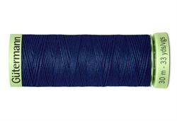 Нить Top Stitch отделочная, 30 м, 100% п/э,  цвет: 013 синий, 1 кат.