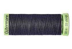 Нить Top Stitch отделочная, 30 м, 100% п/э,  цвет: 036 серый, 1 кат.