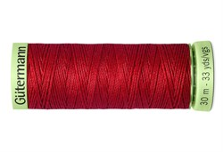 Нить Top Stitch отделочная, 30 м, 100% п/э,  цвет: 046 бургундский, 1 кат.