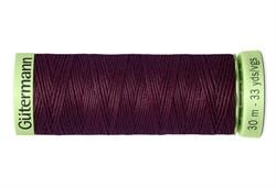 Нить Top Stitch отделочная, 30 м, 100% п/э,  цвет: 130 т. марсала, 1 кат.