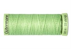 Нить Top Stitch отделочная, 30 м, 100% п/э,  цвет: 152 бледно-салатовый, 1 кат.