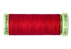 Нить Top Stitch отделочная, 30 м, 100% п/э,  цвет: 156 красный, 1 кат.