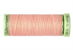 Нить Top Stitch отделочная, 30 м, 100% п/э,  цвет: 165 жемчужно-персиковый, 1 кат.