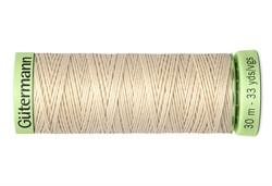 Нить Top Stitch отделочная, 30 м, 100% п/э, цвет: 169 пломбир, 1 кат.