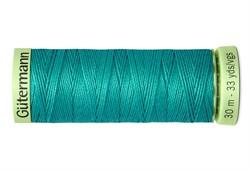 Нить Top Stitch отделочная, 30 м, 100% п/э, цвет: 235 изумрудный 1 кат.