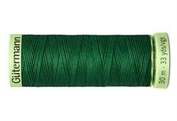 Нить Top Stitch отделочная, 30 м, 100% п/э, цвет: 237 зеленое яблоко 1 кат.