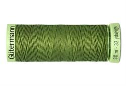 Нить Top Stitch отделочная, 30 м, 100% п/э, цвет: 283 умеренный папоротник 1 кат.