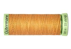 Нить Top Stitch отделочная, 30 м, 100% п/э, цвет: 300 розовое золото 1 кат.