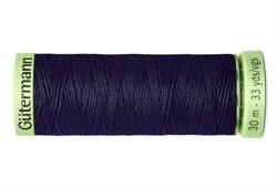 Нить Top Stitch отделочная, 30 м, 100% п/э, цвет: 339 т.чернильно-синий 1 кат.