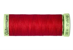 Нить Top Stitch отделочная, 30 м, 100% п/э, цвет: 365 ярко-алый 1 кат.