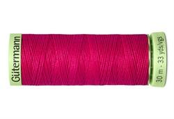 Нить Top Stitch отделочная, 30 м, 100% п/э, цвет: 382 мальва 1 кат.