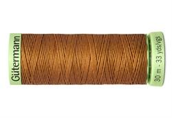 Нить Top Stitch отделочная, 30 м, 100% п/э, цвет:448 шоколадная охра  1 кат.
