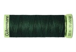 Нить Top Stitch отделочная, 30 м, 100% п/э, цвет:472 т.бутылочный  1 кат.