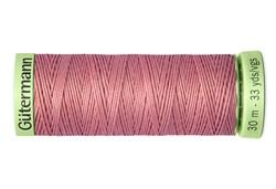 Нить Top Stitch отделочная, 30 м, 100% п/э, цвет:473 пудрово-розовый  1 кат.