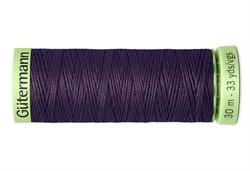 Нить Top Stitch отделочная, 30 м, 100% п/э, цвет:512 баклажан  1 кат.