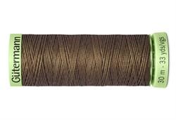 Нить Top Stitch отделочная, 30 м, 100% п/э, цвет: 815 орех 1 кат.