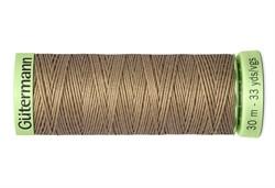 Нить Top Stitch отделочная, 30 м, 100% п/э, цвет: 868 неотбеленный шелк 1 кат.