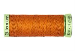 Нить Top Stitch отделочная, 30 м, 100% п/э, цвет: 982 св.рыжий 1 кат.