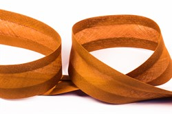Косая бейка Х/Б ширина 40 мм , цвет 181 коричневый 1м