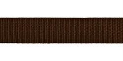 Стропа (ременная лента) 30 мм, цвет коричневый,  2.5 м