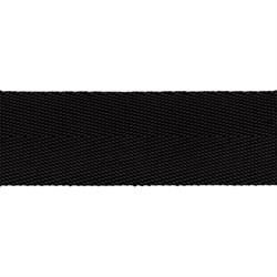 Стропа (ременная лента) 25 мм, цвет черный, 2.5 м
