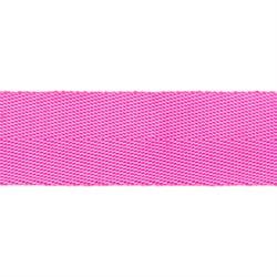 Стропа (ременная лента) 25 мм, цвет ярко-розовый, 2.5 м