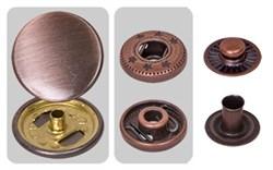 Кнопки металл   'альфа'   PMB-04 d 17 мм  1 компл