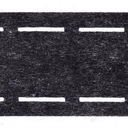 Клеевая корсажная лента 10-30-10   5 см  черный   1м