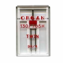 Игла 'ORGAN' двойная для БШМ 90/4 универсальная в пенале 1 шт.