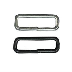 Фурнитура сумочная металл KI-30   Рамка прямоугольная узкая   30 х  7 мм  100 шт. ± 5 шт.