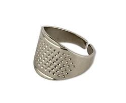 Наперсток-кольцо регулируемый металлический