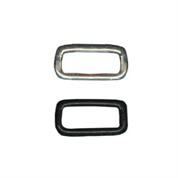 Фурнитура сумочная металл KI-20   Рамка прямоугольная узкая   20 х  7 мм  100 шт. ± 5 шт.