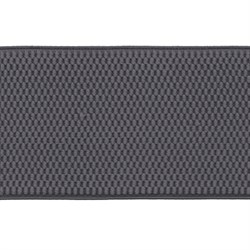 Лента эластичная 70 мм  сераяя 1м