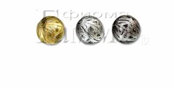 Бусины ажурные  металлические 20 мм  1шт