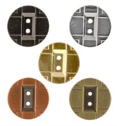 Пуговицы металлические 24 ' ( 15 мм)  1шт