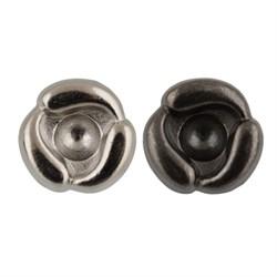 Пуговицы металлические  16 ' ( 10 мм)  1 шт