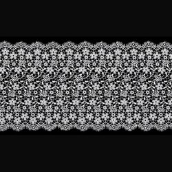 Гипюр 145 мм белый 1 м
