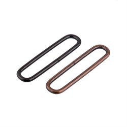 Фурнитура сумочная металл OI-50   Рамка овальная   50 х  7 мм  100 шт. ± 5 шт.