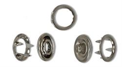 Кнопки рубашечные   металл  d  9 мм  10 шт (комплектов)