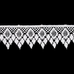 Гипюр белый  26 мм  1м