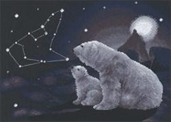 'Полярная ночь'  36 x 27 см  'PANNA'