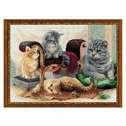 'Кошачье семейство'  'RIOLIS'  1327